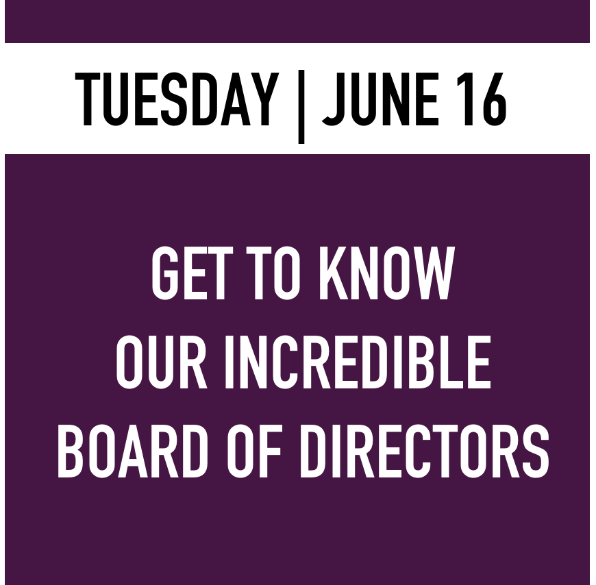 Tuesday - Board of Directors