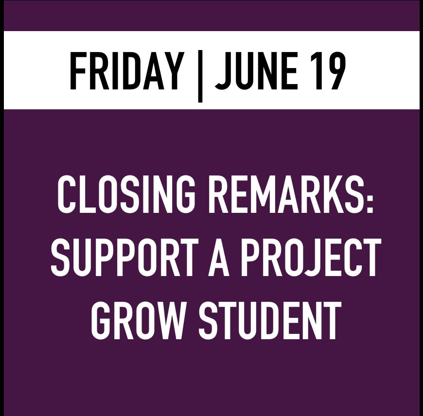 Friday - Closing Remarks