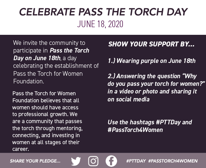 Celebrate Pass the Torch Day